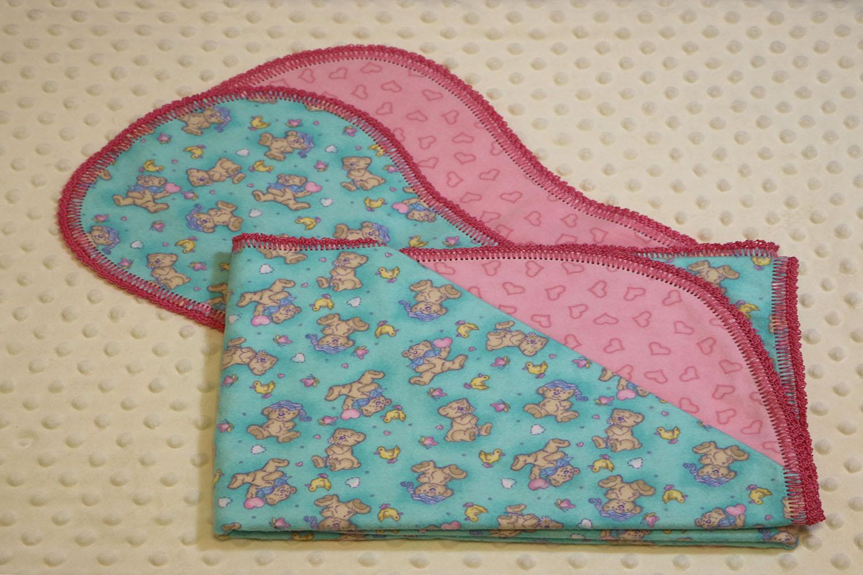 Baby Gifts Baby Blanket Gift Set Baby Blanket W2 Burp Cloths