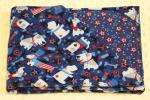 "Dog Patriot Hemstitched Flannel Pet Blanket Kit (Small 38 x 38"")"